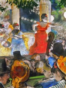 Degas: Concert, C1876-77 by Edgar Degas