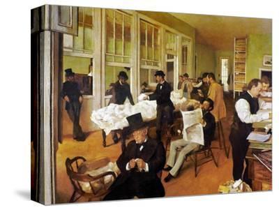 Degas: Cotton Office, 1873