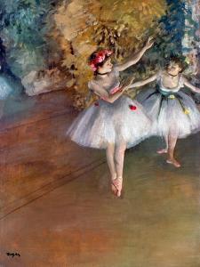 Degas: Dancers, C1877 by Edgar Degas