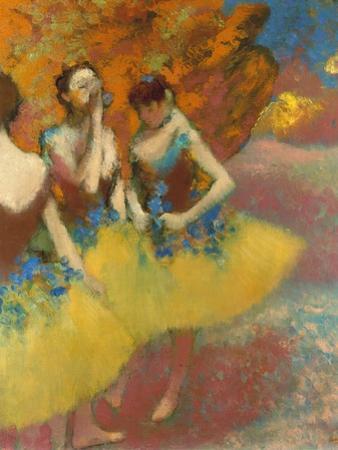 Degas: Dancers, C1891 by Edgar Degas