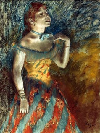 Degas: Singer In Green by Edgar Degas