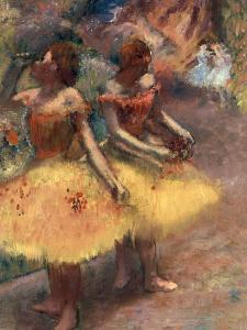 Deux Danseuses, c.1891 by Edgar Degas