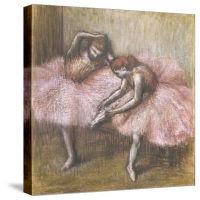 Deux danseuses roses by Edgar Degas