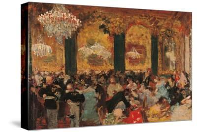 Dinner at the Ball by Edgar Degas