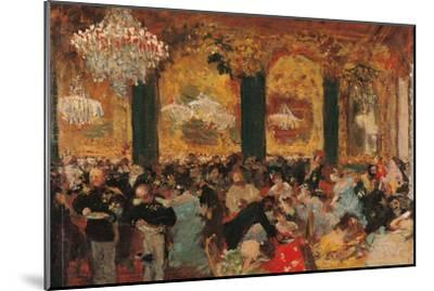 Dinner at the Ball by Edgar Degas