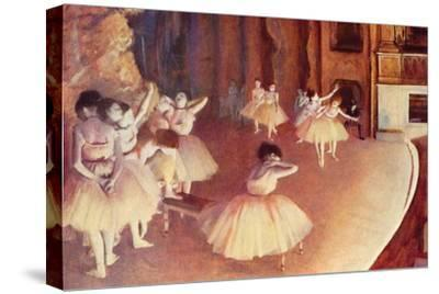 Dress Rehearsal of the Ballet on the Stage