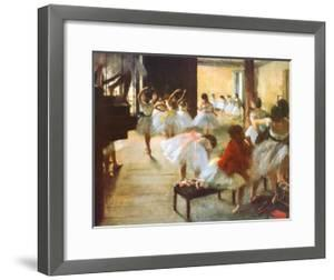 Ecole de Danse by Edgar Degas
