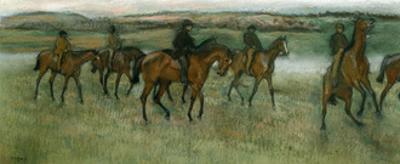 Exercising Racehorses, C1880