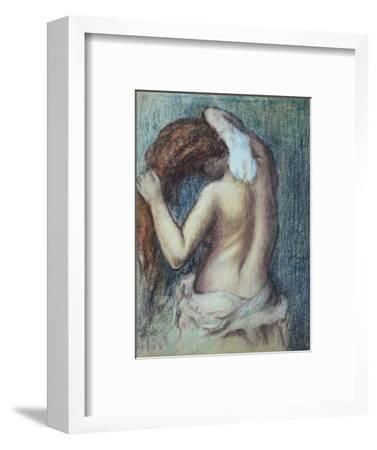 Femme a Sa Toilette, C.1895 (Pastel on Paper)