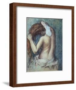 Femme a Sa Toilette, C.1895 (Pastel on Paper) by Edgar Degas