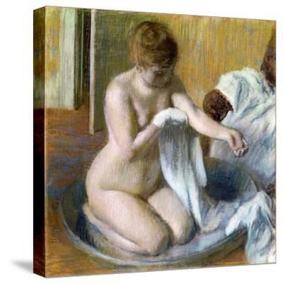 Femme Au Tub, Ca. 1883
