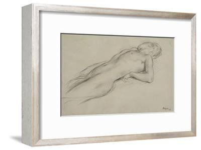 Femme nue allongée sur le dos, étude pour Scène de guerre