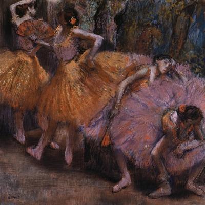 Four Ballerinas Resting