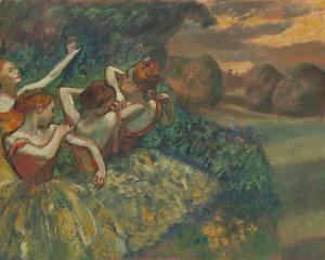 Four Dancers, c.1899 by Edgar Degas