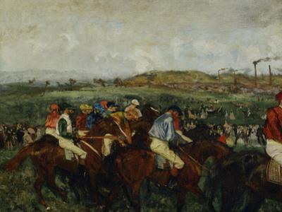 Gentlemen Race, Before the Start, c.1862
