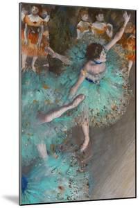 Green Dancer, circa 1880 by Edgar Degas