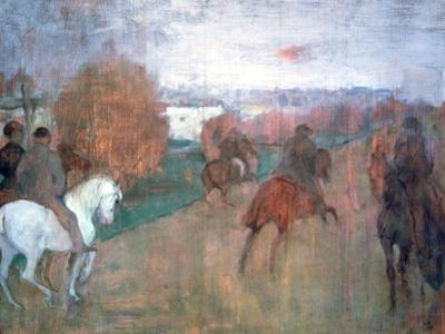 Horse Riders, 1864-1868 by Edgar Degas