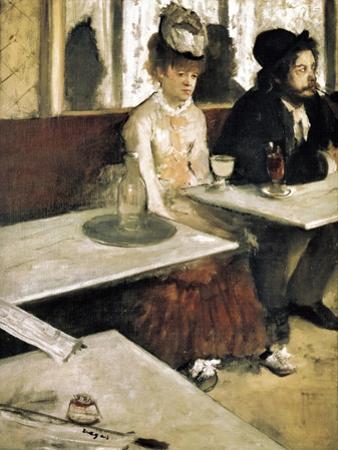 In a Café or L'Absinthe (Dans Un Café Ou L'Absinthe) by Edgar Degas