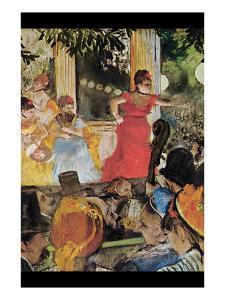 In Concert Cafe (Les Ambassadeurs) by Edgar Degas