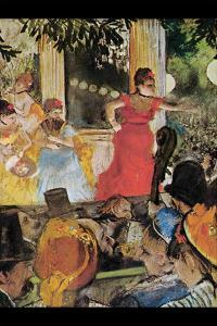 In Concert Cafe (Les Ambassadeurs) by Edgar Degas
