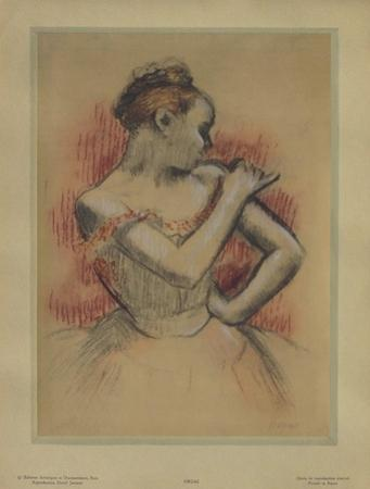 Jeune Danseuse by Edgar Degas