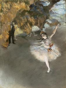 l'Etoile ou Danseuse sur scène by Edgar Degas