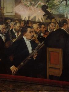 L'orchestre de l'Opera (The Orchestra of the Opera), c. 1870 by Edgar Degas
