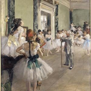 La classe de danse by Edgar Degas