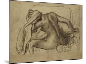La Toilette by Edgar Degas