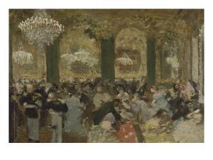 Le Bal by Edgar Degas
