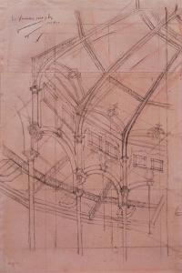 Le Cirque Fernando - Architectural Study by Edgar Degas