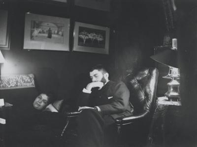 Louise et Daniel Halévy by Edgar Degas