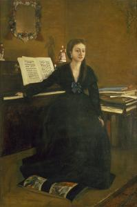 Madame Camus at the Piano, 1869 by Edgar Degas