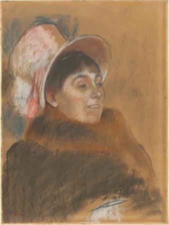 Madame Dietz-Monnin, 1879 by Edgar Degas