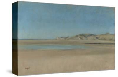 Maisons au bord de la mer by Edgar Degas