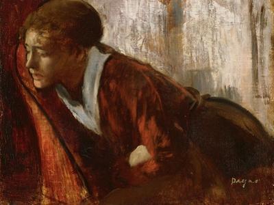 Melancholy by Edgar Degas