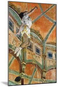 Miss La La at the Cirque Fernando, 1879 by Edgar Degas