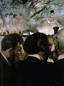 Musicians in the Orchestra, 1870 by Edgar Degas