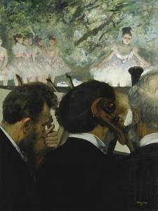 Musiciens a L'Orchestre, 1872 by Edgar Degas