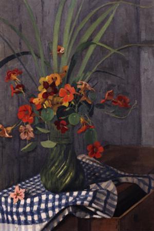 Nasturtiums, 1920 by Edgar Degas