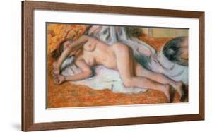 Nude, after the Bath by Edgar Degas