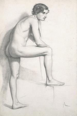 Nude Study, C.1858 by Edgar Degas