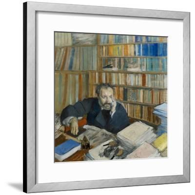 Portrait of Edmond Duranty, 1879
