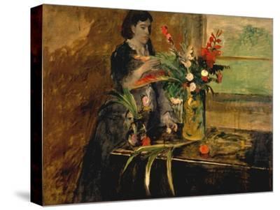 Portrait of Estelle Musson Degas, 1872