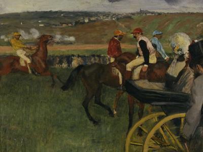 Racecourse, Amateur Jockeys, c.1877