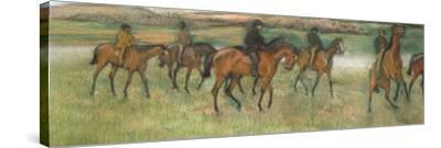 Racehorses (Pastel)