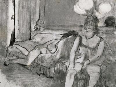 Repos by Edgar Degas