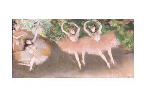 Scene De Ballet, C.1879 by Edgar Degas