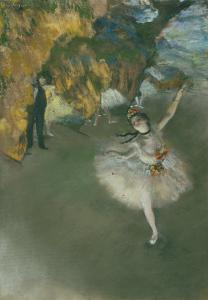 Scene of Dance or l'etoile by Edgar Degas