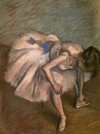 Seated Dancer, Ca. 1881-1883 by Edgar Degas